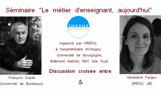 François Dubet is the guest of a seminar organized by IREDU
